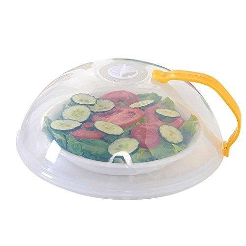 upxiang plástico con ventilación y microondas Hover anti-sputtering Cover, alimentos placa plato cubierta, microondas tapa multifunción tapa antisalpicaduras