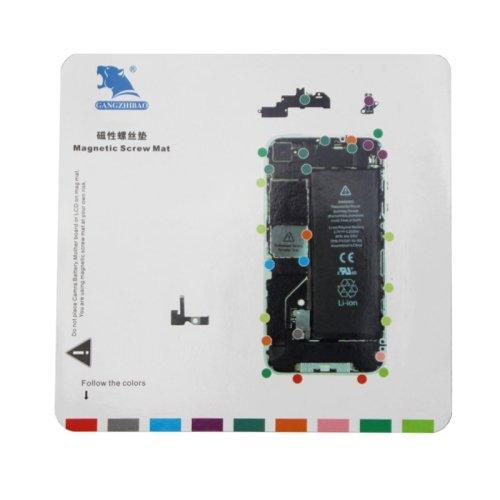 Magnetische Schrauben Mat für iPhone 4, Größe: 20cm x 19cm - Mat Schraube 4 Iphone