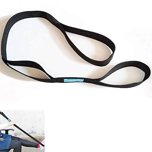 LJXiioo Beinhebergurt mit Handgriff für Erwachsenen-Mobilitätswerkzeug für Rollstuhl, Hüfte und Knieersatz