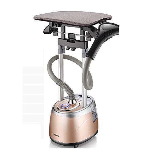 REI Compact Valet - Centro de planchado vertical, fácil de transportar y con ruedas, cepillo para tejidos y quitapelusas Elimina Arrugas Rápido Calentamiento 2000W