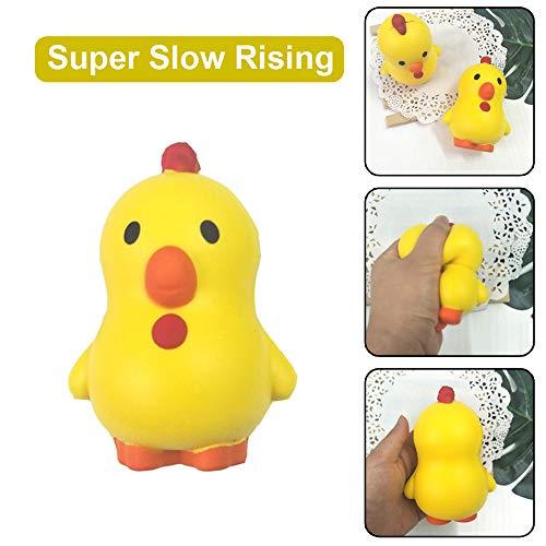 TianranRT Squishies Bezaubernd Huhn Langsam Steigen Sahne Squeeze Duftend Stress Erleichterung Spielzeug