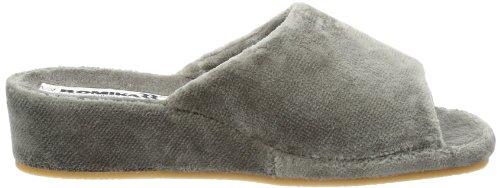 Romika Paris Damen Pantoffeln Grau (anthrazit 700)
