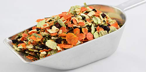 NordicVital Gemüse-Mix, Flocken 1,5kg Beutel,Hund,Barfen,Nager,Nagerfutter,Hamster,Hamsterfutter,