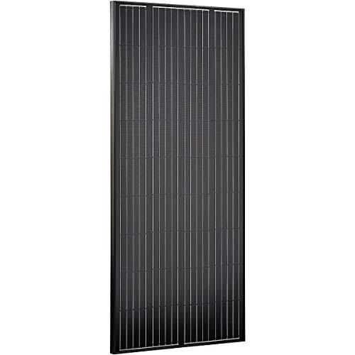 ECTIVE 180W Solar Modul Monokristallin 12V Black Edition Solarzelle Modul für Photovoltaik in 4 Varianten 80-180 Watt Photovoltaik-modul