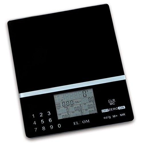 ¡MENU SÓLO INGLÉS! Balanza analítica moderna que sirve no sólo para el pesaje, pero también para determinar el valor nutritivo de los alimentos. Es especialmente útil para las personas que utilizan la dieta. Diseñado para medir con precisión el valor...