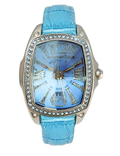 Chronotech orologio analogico quarzo donna con cinturino in pelle ct7948ls-01