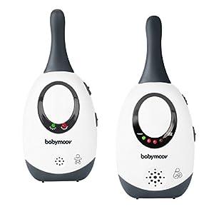 Babymoov Simply Care Audio Baby Monitor, White/Grey (UK Plug)   4