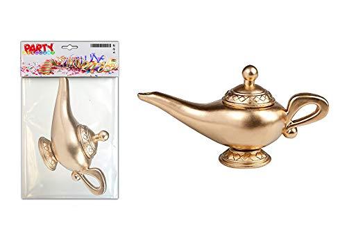 Genie Kostüm Gold - Gold Genie Lampe KWD8627A