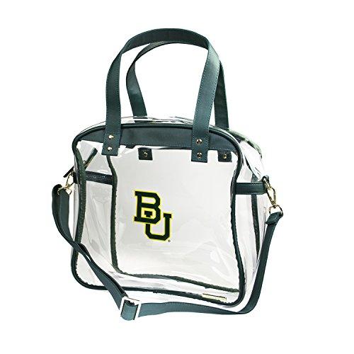 CLEARLY FASHION Baylor University Bears Capri Designs deutlich Mode, Lizenzprodukt klar Tragetasche Stadion Ansprüchen gerecht -