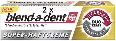 2 blend-a-dent Super-Haftcreme DUO Kraft je 40 g