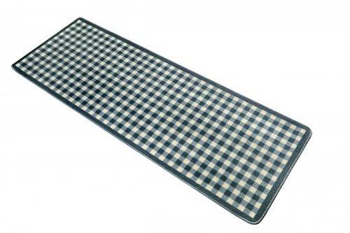 Design Küchenläufer Box blau, Größe:80x200