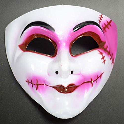 Bureze Halloween Maske Clown Maske Horror Scream Fairy Queen Maske (Halloween Queens Scream)