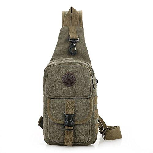 Ms. tela petto sacchetto maschio/pacchetto diagonale spalla/pacchetto della cassa casuale/Semplice coreano marea tela zaino/borsa sportiva-E A