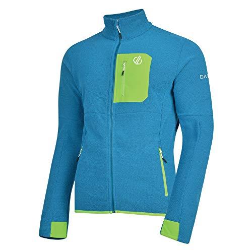 Dare 2b Devoir Herren Fleece-Jacke mit durchgehendem Reißverschluss, Stretch L Atlantic Blue