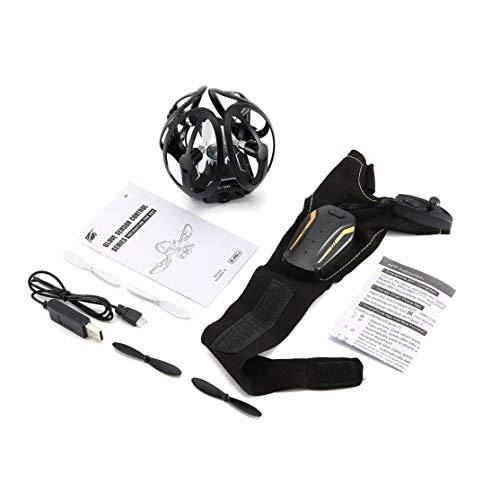 LouiseEvel215 2,4G Handschuhe Geste Sensor Control Interactive WiFi FPV 480 P Kamera RC Drone Quadcopter Hand Sensor Control RC Hubschrauber