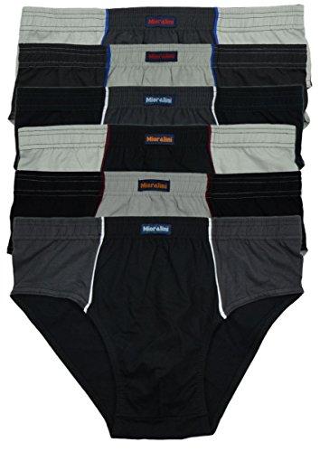 3er Unterwäsc Herren Slip Leichtgewicht Komfort Unterhosen Atmungsaktiv Maenner