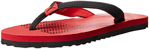 Puma Unisex Miami 6 Dp High Risk Red Black Flip Flops Thong Sandals - 3 UK/India (35.5 EU)  available at amazon for Rs.291