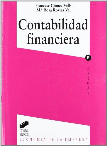 Contabilidad financiera (Síntesis economía. Economía de la empresa)
