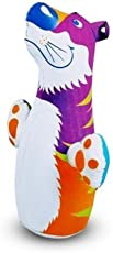 Intex Hit Me Intex Children's Kids Tiger Inflatable 3D Punching Bop Bag - Toy Gift for Age 3+