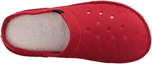 Pantofole Crocs Unisex Adulti Classico Rosso (pepe / Fiocchi Davena)