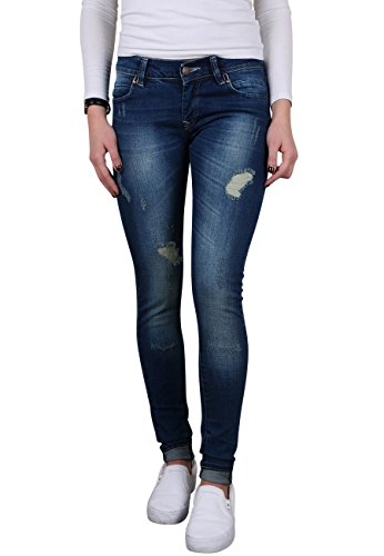 Toni Ellen Life Style T712 Damen Jeans Hüftjeans Slim Fit Skinny Hose Gr. 40/L28