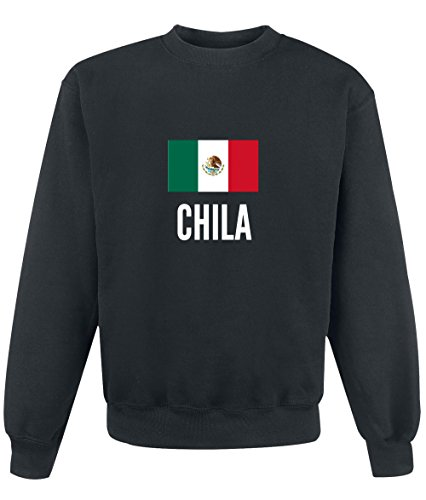 Felpa Chila city Black