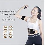 Hlidpu Muskel Stimulation Muskel Konditionierung Gurt Fettbrenner Gerät 6-Modus und 10-Level-Stimulation-Tragbare USB-Ladegerät - 5
