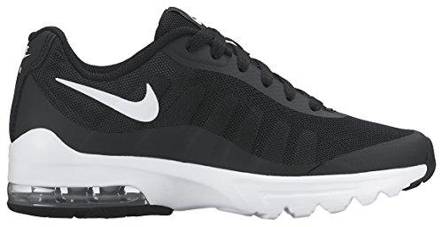 Nike Air Max Sapatos Novo Que Movimenta Invigor (gs), Preto Preto / Branco