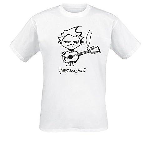 Serum 114 - Junge dein Label T-Shirt. Farbe: weiß, Größe XXL