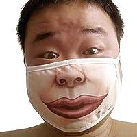 wfz17Cechya Face Maske Funny verschmitzen Luftverschmutzung Gesicht Mund Maske–Anti-Staub Smoke Warm draußen preisvergleich bei billige-tabletten.eu