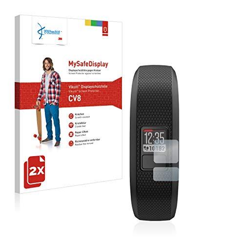2X Bildschirmschutzfolie CV8 von 3M kompatibel mit Garmin Vivofit 3 Schutzfolie Folie