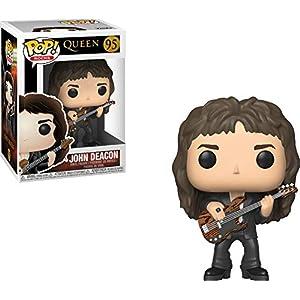 Funko Pop Vinyl: Rocks: Queen: John Deacon Figura de Vinilo Multicolor (33728 Funko Pop Cantantes y Músicos