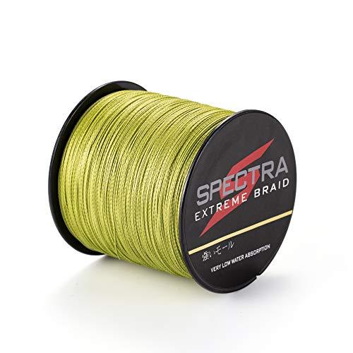 Spectra Extreme Geflochtene Angelschnur, Armeegrün, 100m/109Yards 15lb/0.18mm