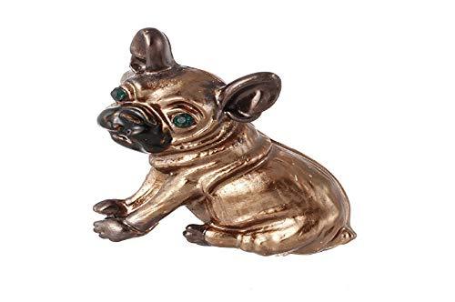 Koojawind Modische Puppy Dog Kristall Brosche KostüM Abzeichen Partei Schmuck Geschenk, Elegante Hohle Strass Welpen Brosche FüR Hochzeit, Kleidung Dekoration ()
