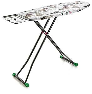 Perilla Liana 4-Leg Heavy Duty Ironing Board with Heat Resistant Cloth Cover