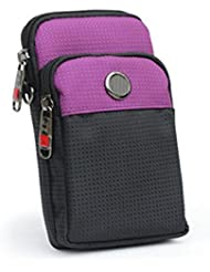 Multifunción Oxford Tela De Mini Bolsillos Impermeables Mensajero Coreano Deportes De Teléfonos Móviles,Red