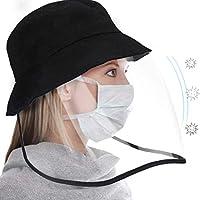 Du/šial Anti-Fog Empty Top cap Clear Full Face Splash-Proof Face Protective Shield Guard Hat Anti Spittle