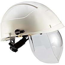 Casco Idra con pantalla de protección integrado color blanco