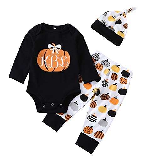 Minions Boutique Halloween Neugeborenes Baby Kleidung Set Herbst Winter Baby Langarm Harness Kind Spielanzug 3 STue CKE Set