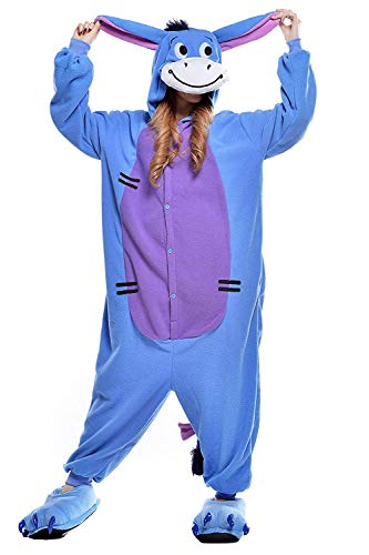 AGOLOD Cartoon Overall Pyjama Nachtwäsche Cosplay Partei Kostüme