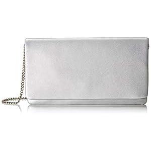 s.Oliver Damen 39.908.94.4651 Clutch, Silber (Silver), 2x13,5x26,5 cm