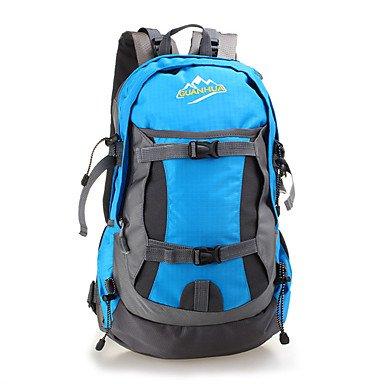 35 L Rucksack Klettern Freizeit Sport Camping & Wandern Regendicht Staubdicht Atmungsaktiv Multifunktions Green