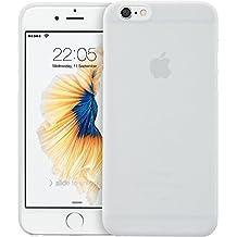 ESR Funda iPhone 6 / iPhone 6s [Ultra Fina y Ligera] [No Amarilla] Cárcasa Suave [Facilidad de Acceso a Botones][Tacto Agradable] Encaja Perfecta Semi-transparente para Apple iPhone 6/6s -Blanco