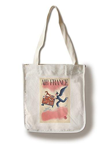 air-france-vintage-poster-artist-baille-france-c-1940-100-cotton-tote-bag-reusable-by-lantern-press