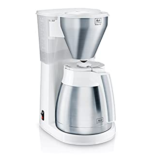 Melitta 1010-10 Independiente - Cafetera (Independiente, Cafetera de filtro, Acero inoxidable, Blanco, Termos, Acero inoxidable, 10 tazas) (B0193823Y0) | Amazon Products