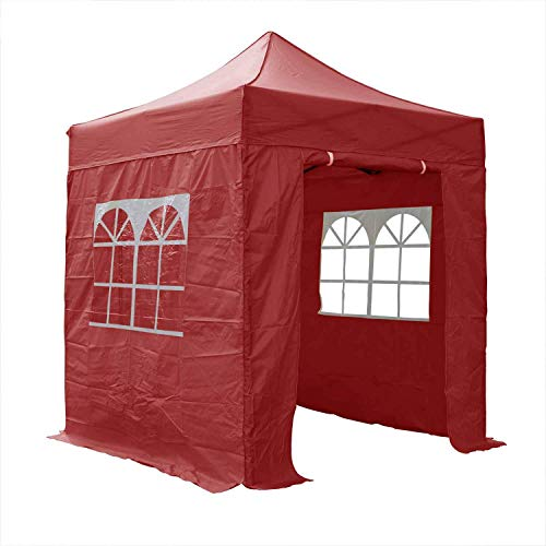 AIRWAVE Essential Pop-Up-Pavillon, 2 x 2 m, Rot