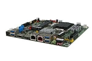 Intel DQ77KB Intel Q77 Express LGA 1155 (Socket H2) Thin Mini ITX carte mère - cartes mères (DDR3-SDRAM, DIMM, 1333,1600 MHz, Dual, 16 Go, Intel)