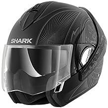Shark Casco de motocicleta Evoline, serie 3, Mezcal, mate, KAS, negro