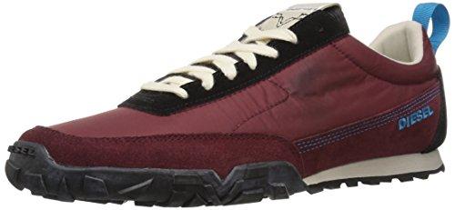 Diesel s-pagodha low, scarpe da ginnastica basse uomo, rosso h6769, 44 eu