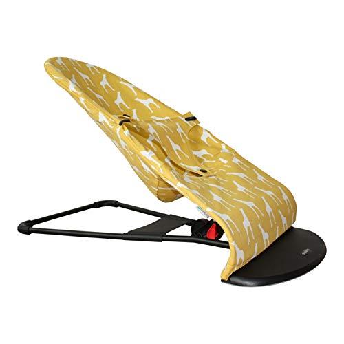 Funda Ukje para hamaca BabyBjörn Balance 1-2-3 (modelo antiguo de hamaca) - Jirafas amarillas - Lea la descripción del producto - Ambos lados utilizables ♥♥♥